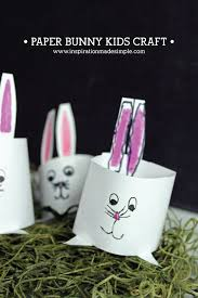 paper bunny kids craft inspiration made simple