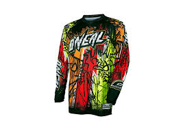 neon motocross gear o neal element vandal long sleeved cycling shirt u2013 everything you