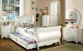 Sleigh Bunk Beds Furniture Of America Nathalia Tale Style