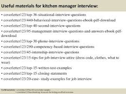 kitchen manager cover letter professional kitchen manager cover
