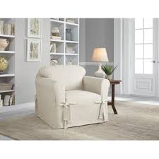 Chair Slipcovers Youll Love Wayfair - Slipcovers for living room chairs