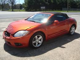mitsubishi convertible mitsubishi eclipse wrecked sport cars for sale