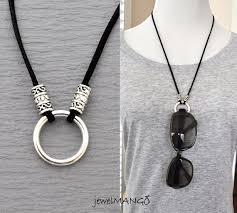 holder necklace images Eyeglasses necklace eyeglass holder suede leather necklace pick jpg