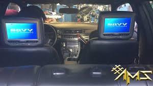 lexus ct200 lexus ct200 savv dvd player u0026 savv tv headrest installation