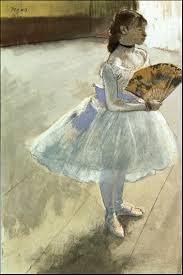degas dancer with a fan degas hilaire germain edgar artists