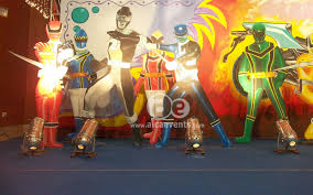 Theme Decoration by Aicaevents India Power Rangers Theme Party