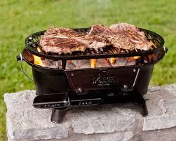 Backyard Grill Review by Amazon Com Lodge L410 Pre Seasoned Sportsman U0027s Charcoal Grill