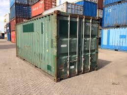 buy shipping container 20ft open top half height shipping