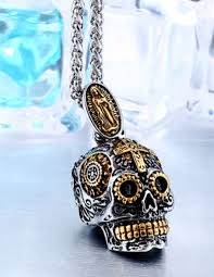 skull pendant necklace images Carved skull pendant proud n 39 loud png