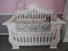 Grey And Pink Nursery Decor by Pink U0026 Gray Classic Romance Project Nursery