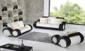 ensemble canape cadiz 3p 2p 1p design cuir destockage grossiste