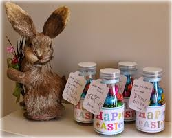 easter present ideas appealing easter gift idea with glass jars and simple greeting cards