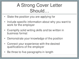 what should a cover letter consist of 3 related post of cover