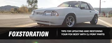 fox mustang restoration top tips for fox restoration projects