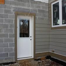 Pvc Exterior Door Trim by Installing Pvc Trim Around Garage Door The Most Suitable Home Design
