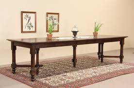 vintage french dining table sold victorian gothic antique french 1890 u0027s oak dining table 6