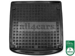 audi a6 avant 2011 2015 exclusive rubber boot liner tailored mat