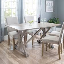 zinc top dining table kirklands