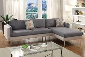 Reversible Sectional Sofa by Reversible Sectional Sofa Poundex F6551