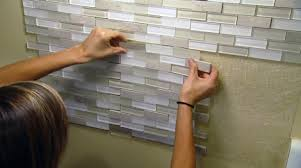 Design Stylish Adhesive Tile Backsplash Home Depot Peel And Stick - Kitchen backsplash peel and stick tiles