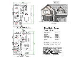 ruby peak md2011 peak home design oregon