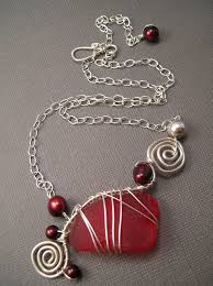 making glass necklace pendants images 83 best sea glass jewelry images jewelry ideas sea jpg