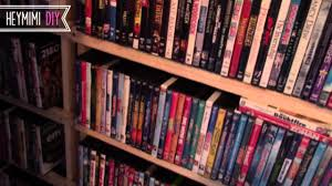 diy dvd shelves quick and cheap dvd storage shelf youtube