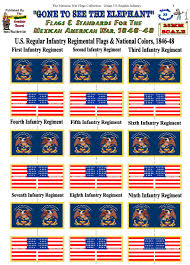 Us Military Flags For Sale Mexican American War Flags Collection