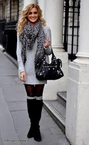 sweater dress with leggings and boots pictures naf dresses