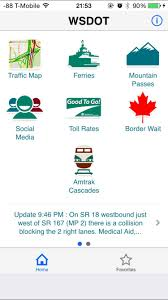 Wsdot Seattle Traffic Map by Redesigning The Interface Of Wsdot Official App Using Proto Io