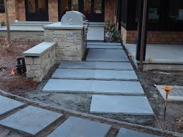 Dry Laid Bluestone Patio by February 2012
