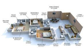 3 bhk apartment floor plan 3 bhk flats u0026 apartments for rent in hmt layout 3 bhk for rent