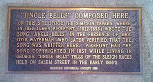 Famous Thanksgiving Songs Jingle Bells Wikipedia