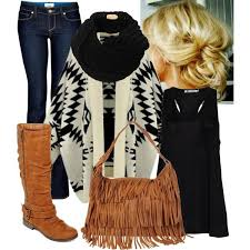 what to wear with light brown boots 20 great looking winter with a bit of fringe styles weekly