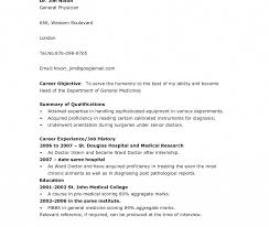 resume sle for doctors stephen pasquini physician assistant doctor resume templates