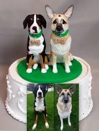 dog cake topper custom wedding cake topper german shepherd greater swiss