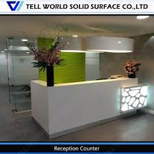 Salon Front Desk Furniture Salon Front Area Reception Desk Regarding Reception Desk With