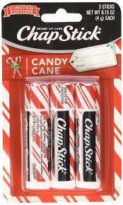 amazon com chapstick limited edition candy cane a pack of 3 beauty