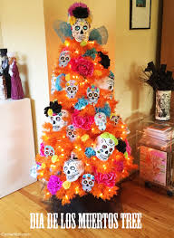 diy dia de los muertos tree the day of the dead sugar skull
