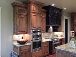 oak wood cool mint lasalle door knotty alder kitchen cabinets