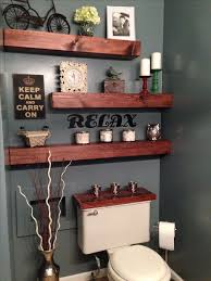 Decorate Bathroom Shelves Best 25 Bathroom Shelves Ideas On Pinterest Half Bath Decor