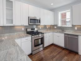 interior wonderful glass tile backsplash in u shape kitchen