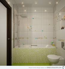 white tile bathroom design ideas 16 unique mosaic tiled bathrooms home design lover