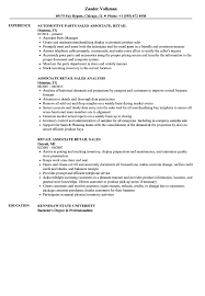 resume exles for retail sales associate retail resume sles velvet