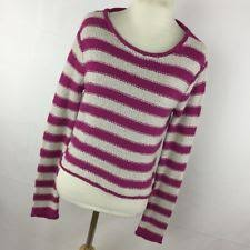 free people striped cotton blend scoop neck women u0027s sweaters ebay