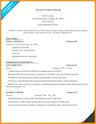 college application resume templates resume templates for college applications admission