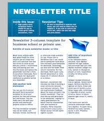 templates for newsletters newsletter exles template newsletter newsletter template