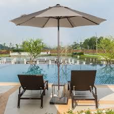 Corona Patio Umbrella by Amazon Com Abba Patio Sunbrella Patio Umbrella 9 Feet Outdoor