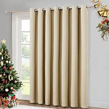 Curtain Patio Door 100 Wide Patio Door Curtain Energy Smart Noise