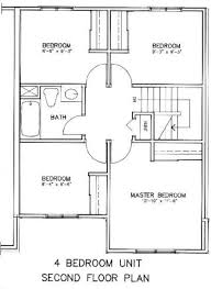 4 bedroom house plans with basement stupefying four bedroom house plans with basement 4 bedroom